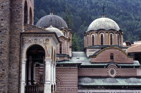 Domes of the Rila Monastery