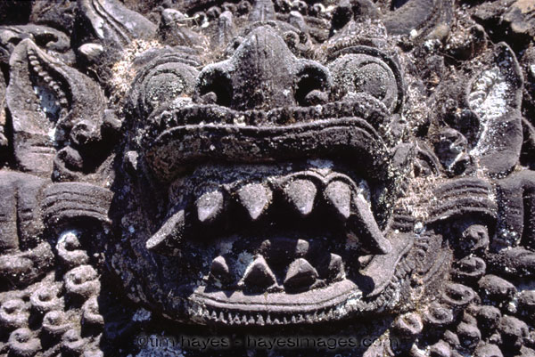 Bali Temple Carving 1