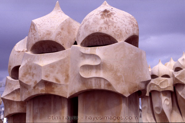 The Pedrera Roof Group