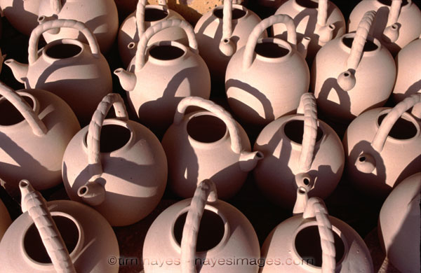 Unfired Pottery