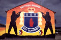 Scottish Brigade Mural